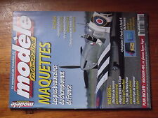 $$3 Revue modele magazine N°625 Plan encarte Machaon 480  Red Star  Raptor 50 V2