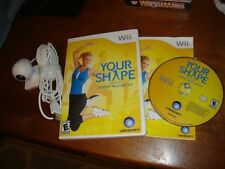 Your Shape: Featuring Jenny McCarthy Nintendo Wii  with Camera +Booklet COMPLETE