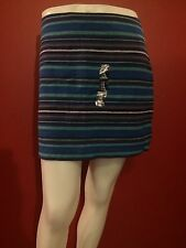 GAP Women's Colorful Striped Ethnic Woven Skirt - Size 2 - NWT $44.99