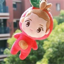 "Kpop EXO Plush Luhan Little Apple 9"" Red Toy Stuffed Doll Handmade Xmas Gift"