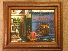 W. James ORIGINAL ? oil ? BAR France ? realism history classical surrealism fire