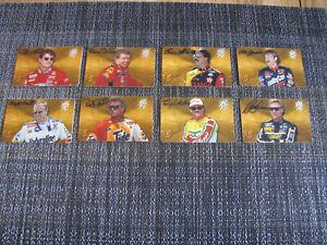 1996 Finish Line Racing Diamond Collection NASCAR $5.00 Calling 8 Card Set
