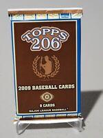 2009 TOPPS T206 BASEBALL FACTORY SEALED HOBBY PACK 9 CARDS PER PACK RARE