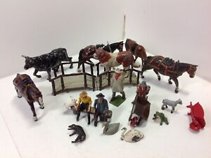 Britains, Timpo and others original lead farm.