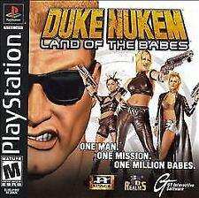 Duke Nukem: Land of the Babes (Sony PlayStation 1, 2000) DISC ONLY