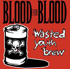 Blood For Blood ‎- Wasted Youth Brew 2 x LP - Victory Records Hardcore SEALED DL