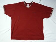 Columbia Men's Red Casual V Neck Large Shirt