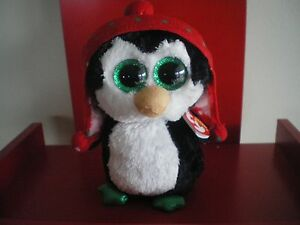 Ty Beanie Boos FREEZE the penguin 6 inch NWMT. NEW - CHRISTMAS BEANIE BOO..