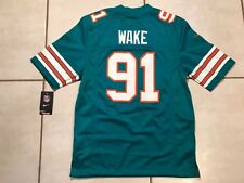 Nike Miami Dolphins Cameron Wake NFL Stitched Alternate Jersey Men s Small aec59e60d