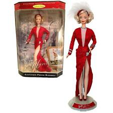 Barbie Doll as Marilyn Gentlemen Prefer Blondes Red Dress Collector Edition 1997