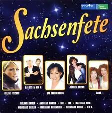 MDR - SACHSENFETE mit NIK P., HELENE FISCHER; JÖRG BAUSCH uva  2 CD's (NEU/OVP)