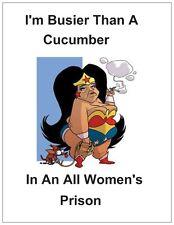 "Jail Prison Inmate Postcard  ""Dirty Cucumber"""