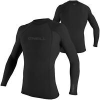 O'Neill Thermo Long Sleeve Thermo Rash Vest Thermo Layer Wetsuit Vest - Black