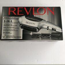 Revlon 3-in-1 Perfect Heat Multi Styling Dryer 3 Attachments 1875 Watt Ionic