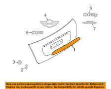 MINI OEM 07-15 Cooper Liftgate Tailgate Hatch-Grip Pull Handle Trim 51132753603