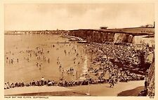 POSTCARD  KENT  CLIFTONVILLE   palm  bay  and  Cliffs