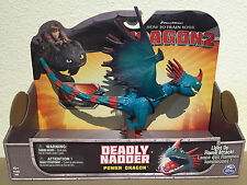 DEADLY NADDER How to Train your Power Dragon / Berk movie Toy Action Figure