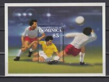 S6002) Dominica 1986 MNH World Cup Football '86 - 2v