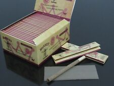 25 Booklets 800 Leaves 110mm King Size Slim Unbleached Hemp Rolling Papers N133