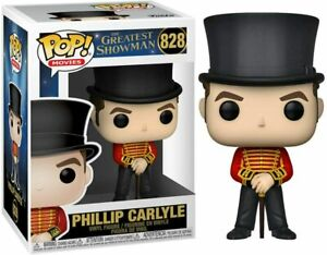 Funko Pop! Movies: The Greatest Showman Philip Carlyle #828 - Damaged Packaging