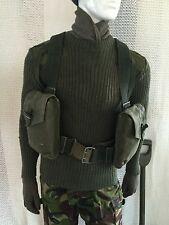 New vintage swedish webbing & bag army surplus miliary fishing hunting shooting