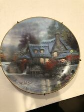 knowles collector plates Thomas Kinkade's Olde Thomashire Mill Plate # 965B