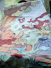 Vintage Disney Winnie the Pooh single bed Duvet quilt and pillowcase