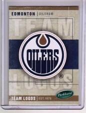 05/06 Parkhurst Edmonton Oilers Team Logos card #542
