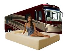 DYNASTY MATTRESS 10 Queen RV Cool Memory Foam Mattress RV, Trailer, Camper,75x60