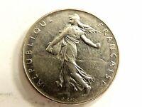 1964 France One Franc Coin
