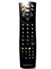 MATSUI TV/DVD COMBI REMOTE CONTROL for TVDVD1400