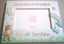 "Grandma Grandpa Sunshine Picture Frame 4 x 6"" Photo Baby Table Stand"