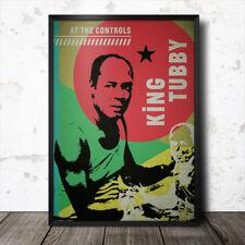 King Tubby Reggae Poster dub jamaica Augustus Pablo Bob Marley Lee Scratch Perry