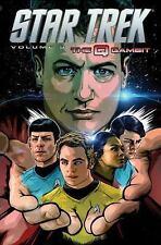 Star Trek Volume 9: The Q Gambit (Star Trek Ongoing Tp), Shasteen, Tony, Johnson