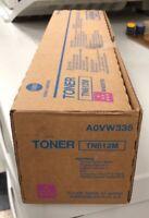 Genuine Konica Minolta BIZHUB C6501 Magenta Toner CartridgeTN612M
