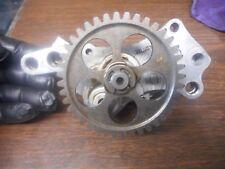 2013 Ducati monster 796 oil pump