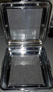 Steribox für Autoklav / Steri / Container Box für Instrumente, inkl. MwSt.