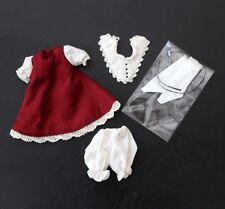 Soom Neo Angelic red dress set for IMDA 26 2.6 doll BJD YOSD size
