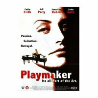 Playmaker - Jeff Perry, Jennifer Rubin, Colin Firth BRAND NEW & SEALED UK R2 DVD