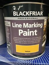 Line Marking Paint 1 Litre In Yellow  ****Free delivery Uk