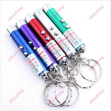 2in1 Ultraviolet Lights Detecting Counterfeit Bills Red Laser Pointer Pen Toy Ef