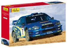 Coche de carreras 1 24 Heller 80750 Subaru Impreza WRC `03