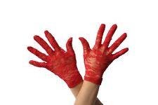 Damen 20s lang Satin Look Verführerin Handschuhe Kostüm 45.7cm lila von Smiffys