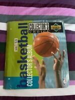 ** NBA Basketball UPPER DECK Séries 2 1995-96 Classeur collecteur collection **
