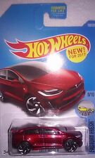 HOT WHEELS TREASURE HUNT (2) NEW FOR 2017 - FIRST EDITIONS FE TESLA X (MOMC)