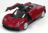 NEU: Pagani Huayra Supersportwagen Sammlermodell ca. 1:37 dunkelrot WELLY 轰动