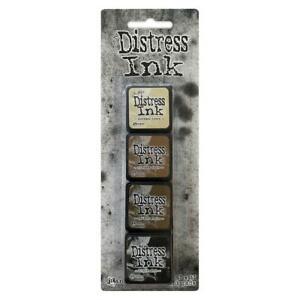 Ranger Distress Mini Ink Pads - Kit #3