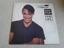 "IGGY POP-FIRE GIRL [a&m] (UK 1986 7"" SINGLE VG + Vinyle)"