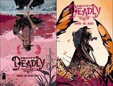 PRETTY DEADLY #1 & #2 1st print iMAGE COMIC 2013 Kelly Sue DeConnick Emma Rios