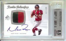 2008 SP Authentic #300 Matt Ryan Jersey/Autograph /499 Rookie NM MT 8.5